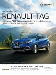 Renault Tag | Auto Krasser