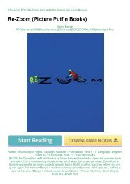 [BOOK] Re-Zoom (Picture Puffin Books) by Istvan Banyai (Paperback)