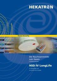 HSD IV LongLife – das gesetzeskonforme Spitzenprodukt - Hekatron