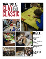 Clay Classic Issue 3, Volume 15