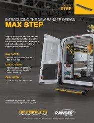 Ranger-Design-Max-Step-Brochure