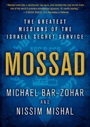 (EXHILARATED) Mossad: The Greatest Missions of the Israeli Secret Service eBook PDF Download