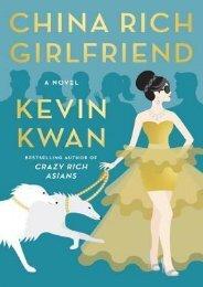 (DISCOUNT) China Rich Girlfriend (Crazy Rich Asians, #2) ebook eBook PDF