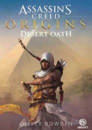 (BRIGHT) Assassin's Creed Origins: Desert Oath ebook eBook PDF