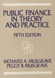 (SUPPORTED) Public Finance in Theory and Practice eBook PDF Download