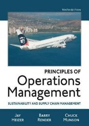 (UPBEAT) Principles of Operations Management: Sustainability and Supply Chain Management ebook eBook PDF