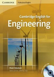 (ALWAYS) Cambridge English for Engineering ebook eBook PDF