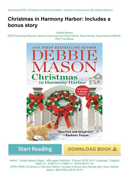 Includes a bonus story Christmas in Harmony Harbor