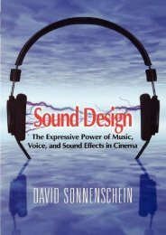 (SELF-SUFFICIENT) Sound Design: The Expressive Power of Music, Voice and Sound Effects in Cinema eBook PDF Download