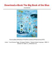 Download.e-Book The Big Book of the Blue