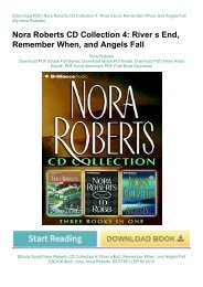 [Ebook Epub] Nora Roberts CD Collection 4: River s End, Remember When, and Angels Fall EBOOK #pdf