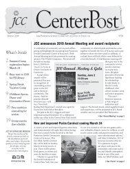 2019 Spring CenterPost