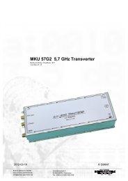 KIT 1,3 GHz MKU 13G2B_deutsch - Kuhne electronic