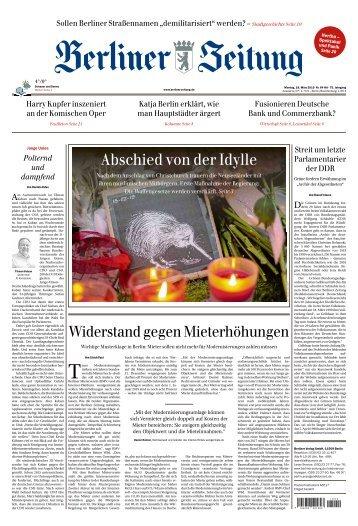 Berliner Zeitung 18.03.2019