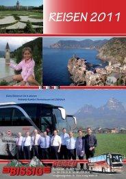 REISEN 2011 - Bissig Reisen