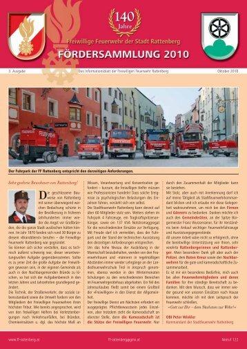 Sehr geehrte Bewohner von Rattenberg! - Freiwillige Feuerwehr ...
