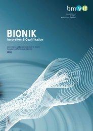 BIONIK - Innovation und Qualifikation - IAP/TU Wien - Technische ...