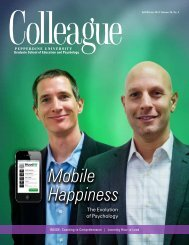 Colleague Magazine Fall 2011 - Byrd Publicity