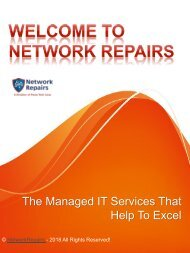 The Managed IT Services That Help To Excel
