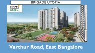 Eden Brigade Utopia New Launch Bangalore