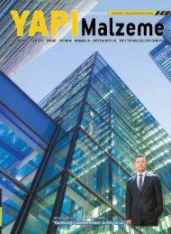 Yapı Malzeme Dergisi Mart 2019