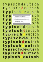 Katalog typisch deutsch - typical german