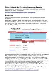 Platten-Falle mit