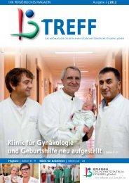 Klinik für Gynäkologie und Geburtshilfe neu aufgestellt - Bethlehem ...