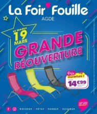 LaFoirFouille 19 mars-25 mars 2019