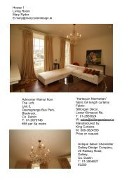 House 1 Living Room Mary Ryder E:mary@maryryderdesign.ie ...