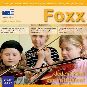 Kaufpreis 3.800.-Euro - Folkwang Musikschule - Essen