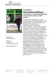 Axel Hacke Deutschlandalbum - Verlag Antje Kunstmann GmbH