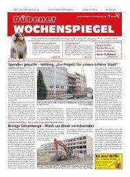 Dübener Wochenspiegel - Ausgabe 05 - Jahrgang 2019