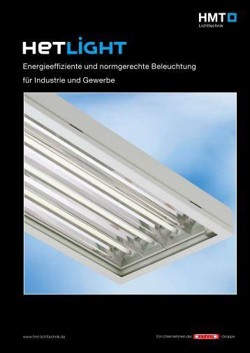 Produktinformation HETLIGHT - HMT-Metalltechnik