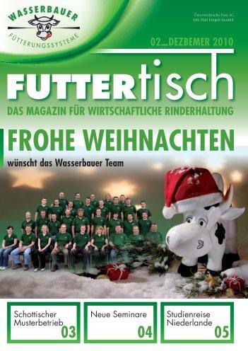 """Der """"futtertisch"""" - Wasserbauer GmbH"""