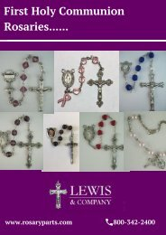 First Holy Communion Rosaries – Rosary Parts