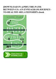 [DOWNLOAD IN @PDF] THE-PATH-BETWEEN-US-AN-ENNEAGRAM-JOURNEY-TO-HEALTHY-RELATIONSHIPS ebook