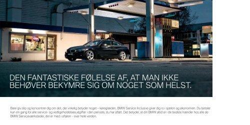 BMW Service Inclusive katalog