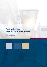 """2 Evaluation der """"Aktion Gesunde Kindheit"""" - LZG.NRW ..."""