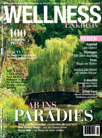 WELLNESS Magazin Exklusiv - Frühling 2019