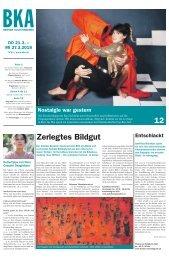 Berner Kulturagenda N°11