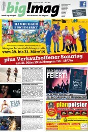 big!mag Ausgabe März-April 2019