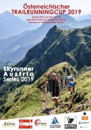Österreichische Trailrunning CUP 2019 Broschüre