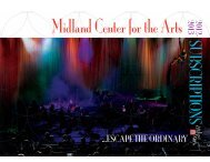 Add-on event - Midland Center for the Arts