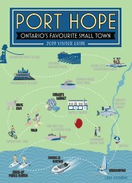 Port Hope Visitor Guide 2019