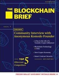 The Blockchain Brief: November 2018