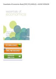 (SPONTANEOUS) Essentials of Economics eBook PDF Download