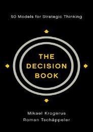 READ PDF Online PDF The Decision Book: 50 Models for Strategic Thinking {PDF Full|Online Book|PDF eBook|Full PDF|eBook