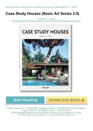 [PDF] Download Case Study Houses (Basic Art Series 2.0) by Elizabeth A. T. Smith TXT,PDF,EPUB