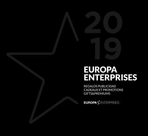 Catálogo Europa Enterprises 2019